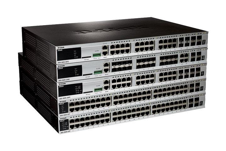 DGS-3620シリーズ