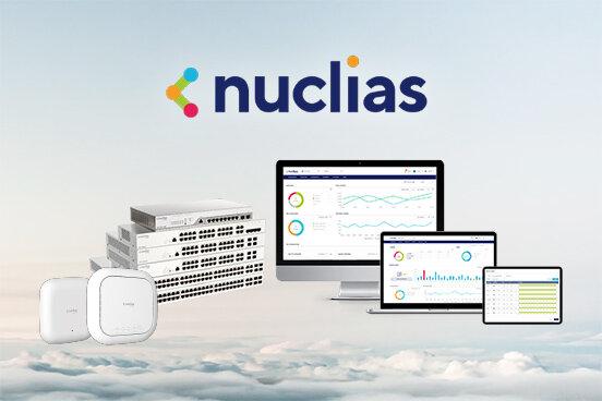 クラウド統合管理型ネットワークソリューション『Nuclias Cloud』